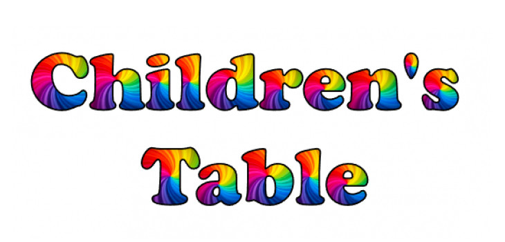 "The words ""Children's Table"""