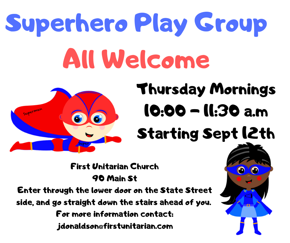 Superhero Play Group