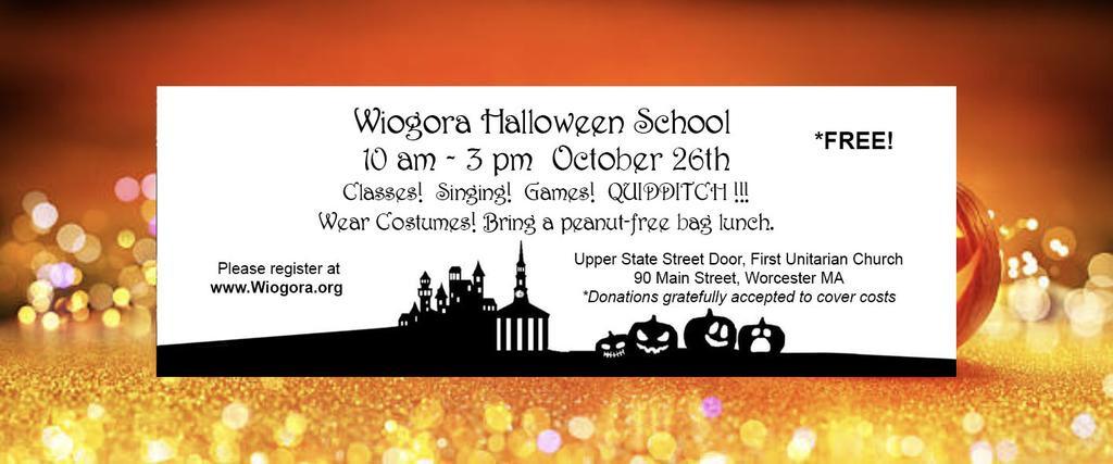 Wiogora Halloween School